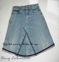 Girls jeans skirt