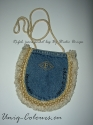 Vintage jeans-pocket Purse