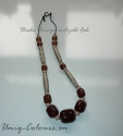 Metallic Brown Necklace