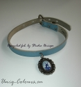 Blue windmill Choker