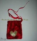 Red & gold gift bag