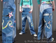 Customized jeans fashion student project.jpeg