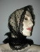 Black Tulle Scarf